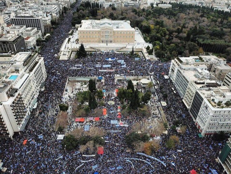 """Greece's massive """"Macedonia is Greece"""" rally in pictures 1"""