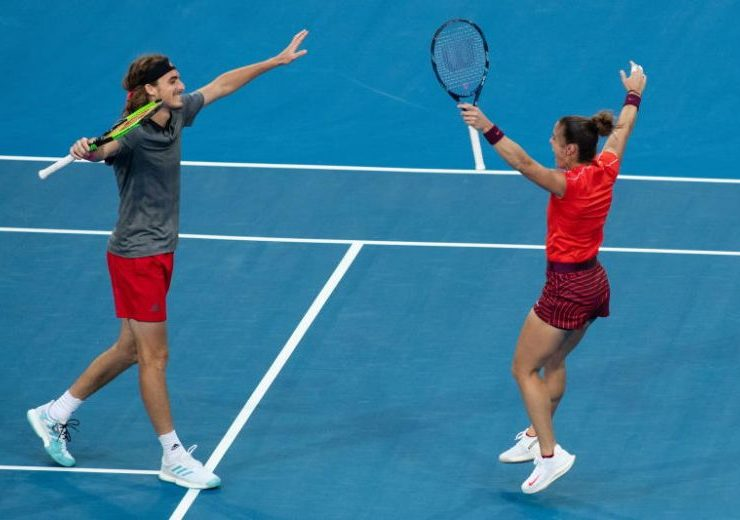 Sakkari and Tsitsipas' first win for Greece in the Hopman Cup 3