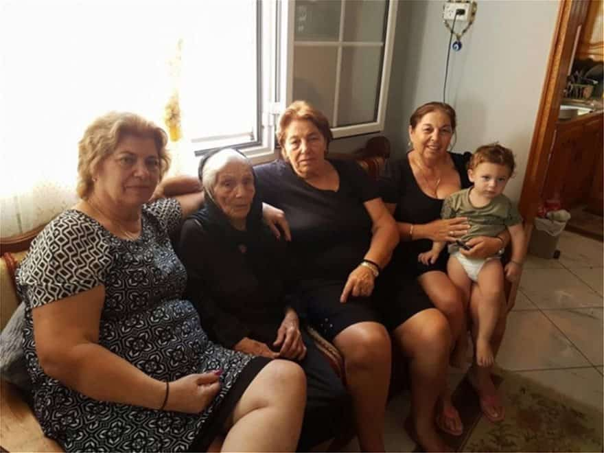 105-year-old Yiayia from Kalymnos one of Greece's oldest woman alive 5