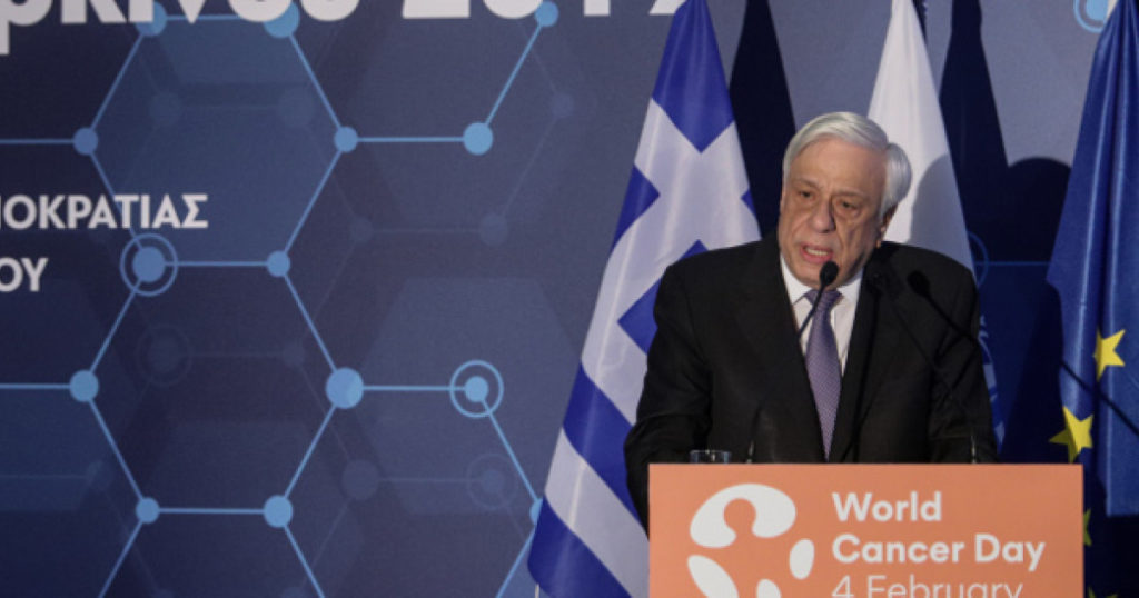 President pays tribute to Greek Cancer Society         2