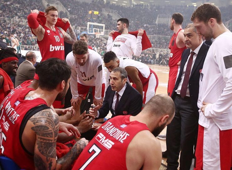 Greek government slams Olympiakos for forfeiting basketball game 13