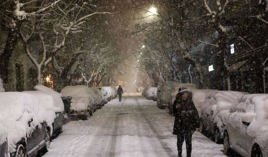 Snow set to hit Athens again by end of the week 1