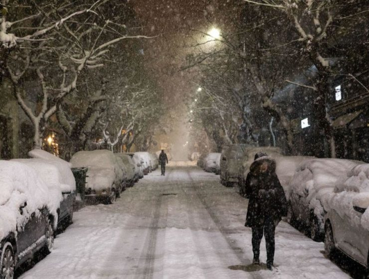 Snow set to hit Athens again by end of the week 15