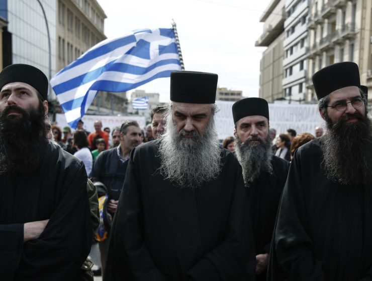 Greek Priests to remain on civil service payroll 6