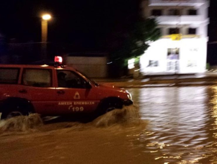 Four people missing after floods sweep through Crete 20