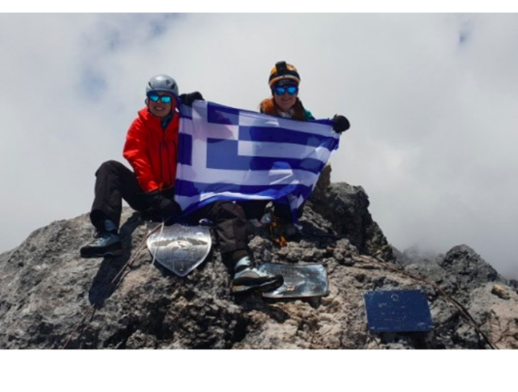 Two Greek women ready to climb 'Roof of the World' 18