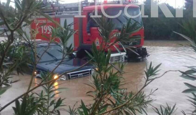 Cretan farmer missing after severe storms hit Chania 5