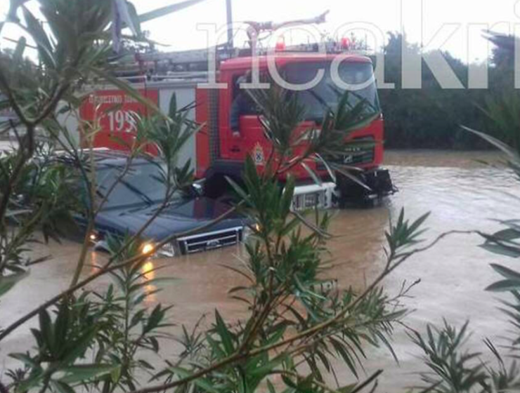Cretan farmer missing after severe storms hit Chania 6