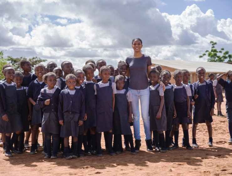 How a Cypriot-Congolese supermodel and philanthropist is changing lives   26