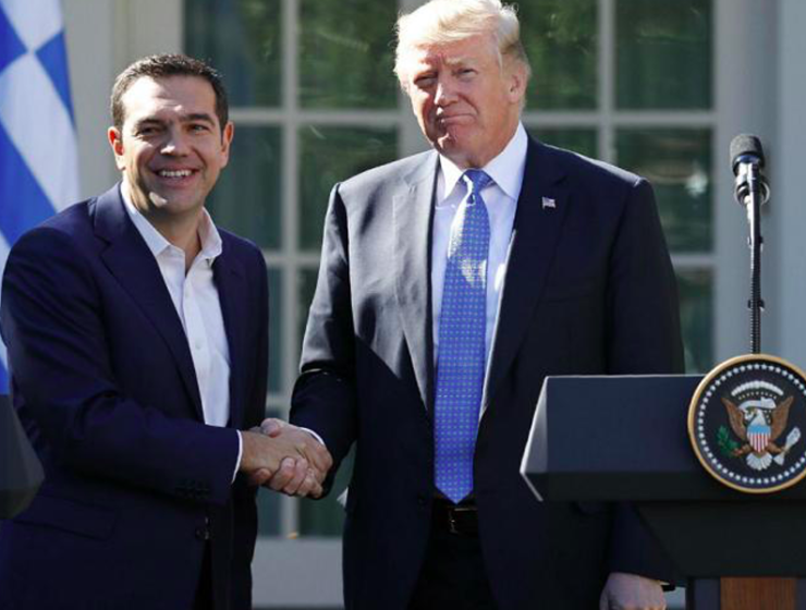 Trump congratulates Tsipras on Prespes Agreement 3