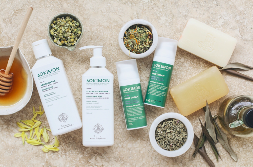 Organic skincare from the pure, sacred, natural land of Mount Athos
