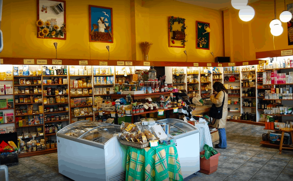 Organic food stores on the rise in Athens 12