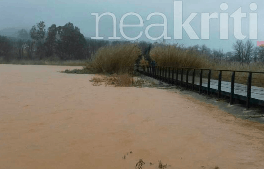 Cretan farmer missing after severe storms hit Chania 3
