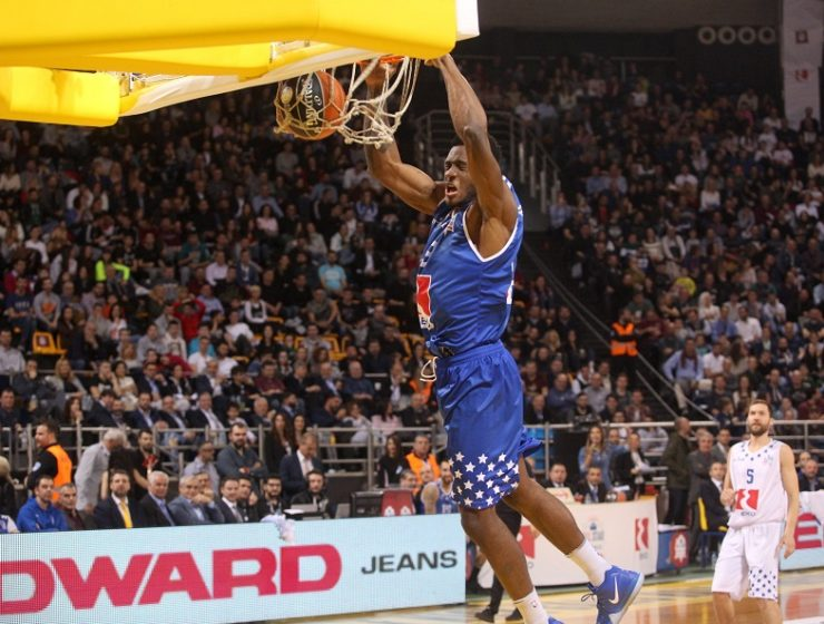 Thanasis Antetokounmpo named MVP after leading Greek Stars' triumph against World Stars 15