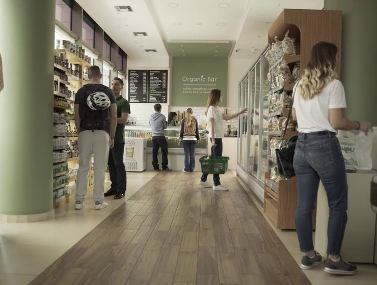 Organic food stores on the rise in Athens 17