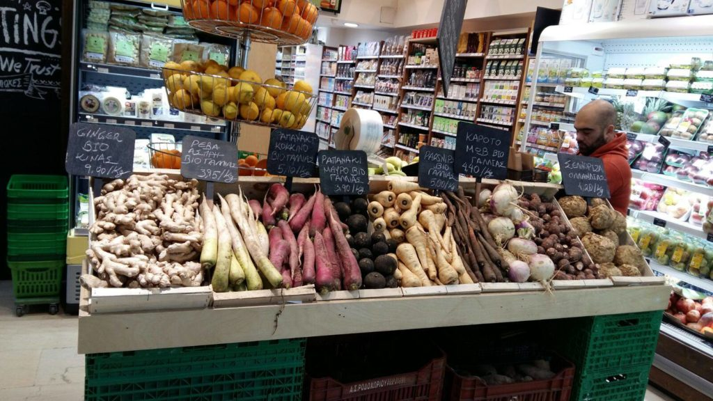 Organic food stores on the rise in Athens 8