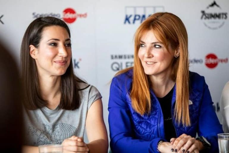 Two Greek women ready to climb 'Roof of the World' 4