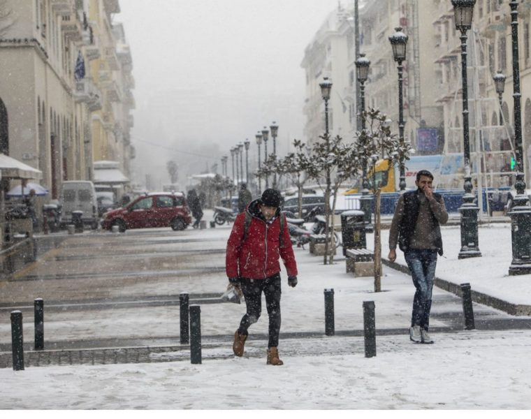 """Chioni"" brings gale-force winds and cold temperatures across Greece 4"