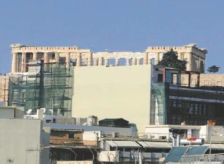Greek Ministry temporarily stops new building construction licenses around Acropolis 36