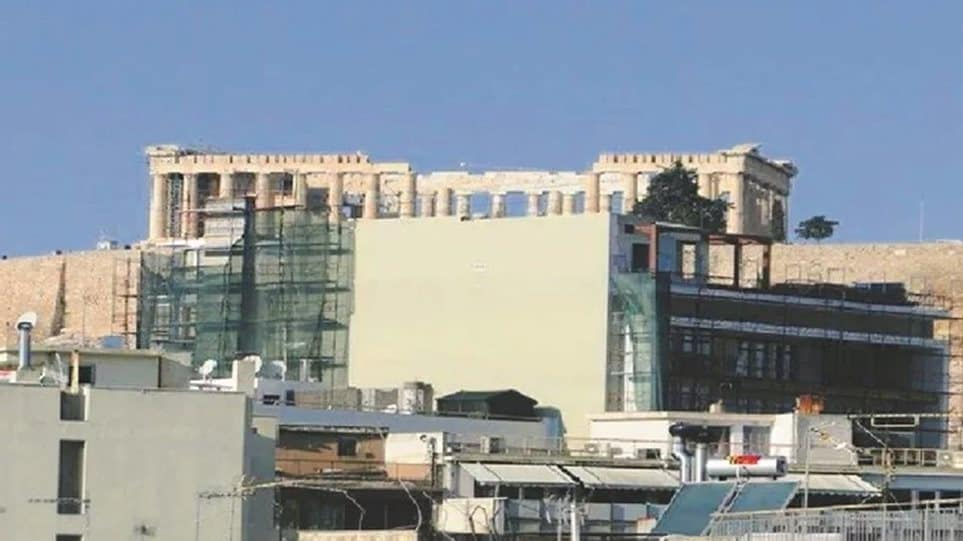 Greek Ministry temporarily stops new building construction licenses around Acropolis 1