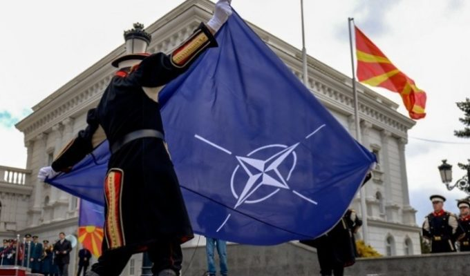 Zoran Zaev calls his country 'North Macedonia' as NATO flag is hoisted in Skopje 5