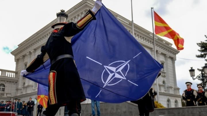 Zoran Zaev calls his country 'North Macedonia' as NATO flag is hoisted in Skopje 10