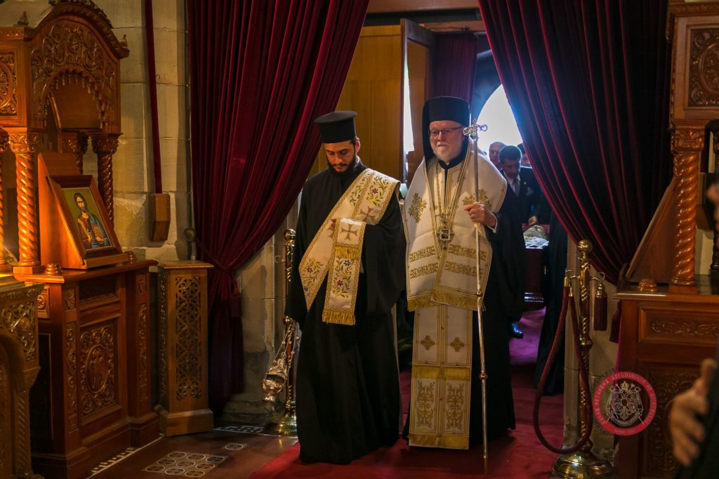 Memorial Trisagion Service held in blessed memory of the late Archbishop Stylianos 14