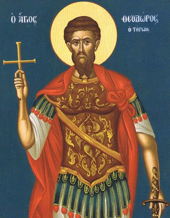 1st Saturday of Great Lent: The Miracle of Saint Theodore the Tyro and Kolyva 3