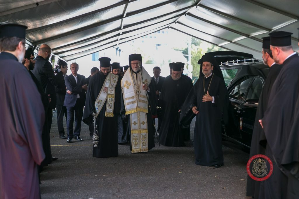 Memorial Trisagion Service held in blessed memory of the late Archbishop Stylianos 13
