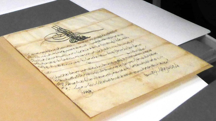 British Library returns historic documents stolen from Greek Monastery in 1979 3