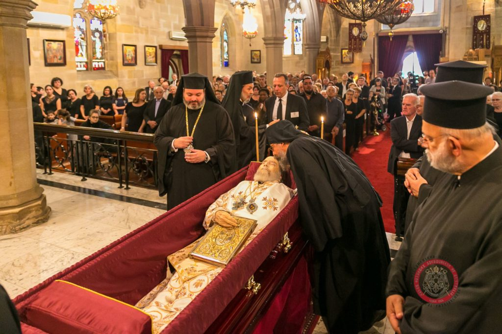 Memorial Trisagion Service held in blessed memory of the late Archbishop Stylianos 16
