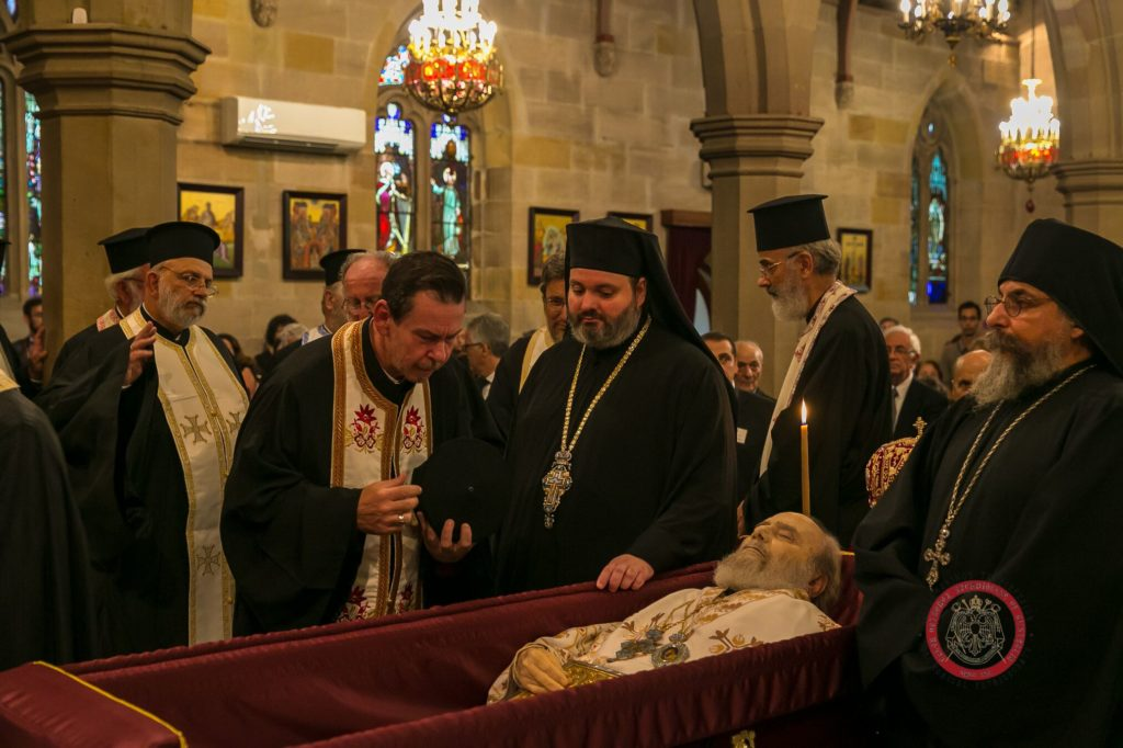 Memorial Trisagion Service held in blessed memory of the late Archbishop Stylianos 21