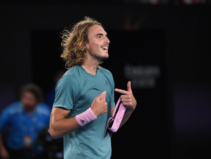 Greece's tennis gun Stefanos Tsitsipas officially enters Top Ten in ATP Rankings 3