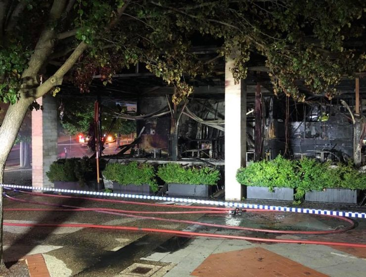 Greek family devastated by fires that burnt down their 'Olive' restaurants in Canberra 33