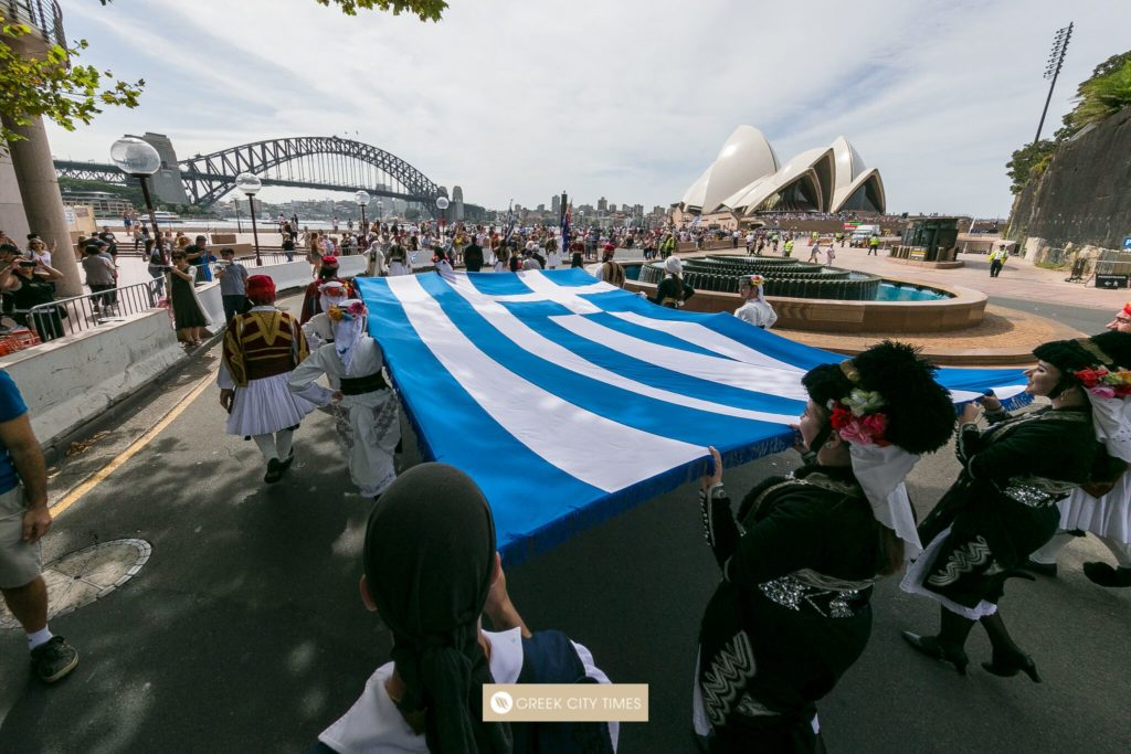 Greek Independence Day Commemoration in Sydney, Australia 22