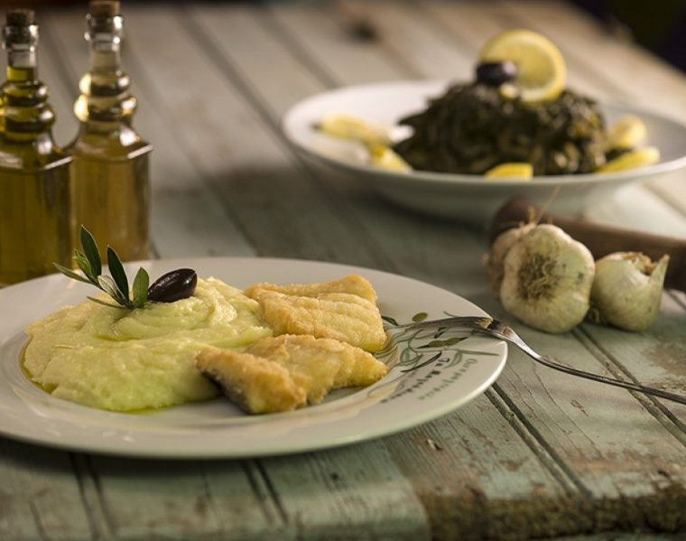 Bakaliaros and Skordalia, Greece's traditional food for March 25 36