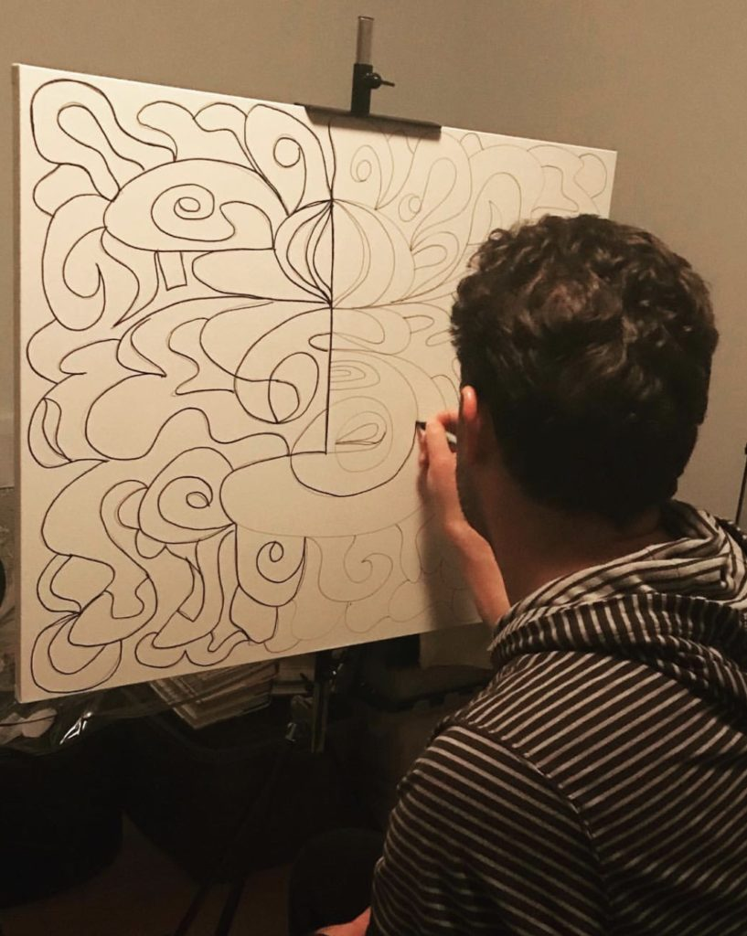 Greek American artist aims to have his artwork featured in galleries worldwide 5