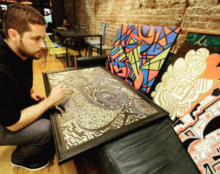 Greek American artist aims to have his artwork featured in galleries worldwide 37