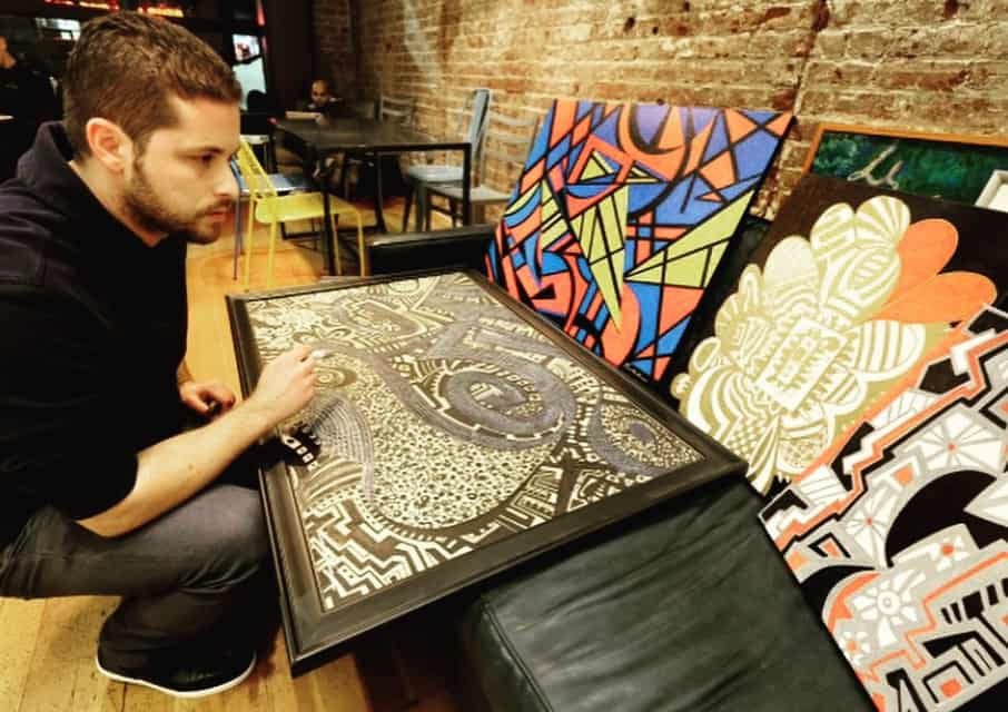 Greek American artist aims to have his artwork featured in galleries worldwide 8