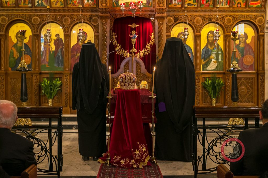 Memorial Trisagion Service held in blessed memory of the late Archbishop Stylianos 18