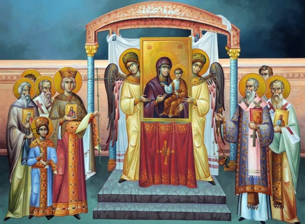 Sunday of Orthodoxy, Great Lent 6