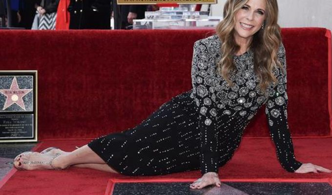 Rita Wilson receives Walk Of Fame star 4