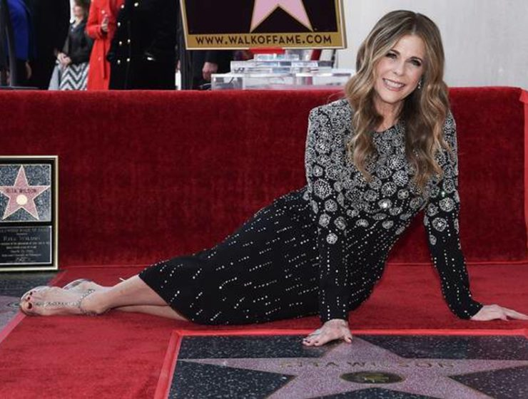 Rita Wilson receives Walk Of Fame star 7