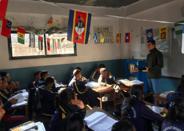 Greek student travels to Nepal to teach kids affected by horrific earthquake 6