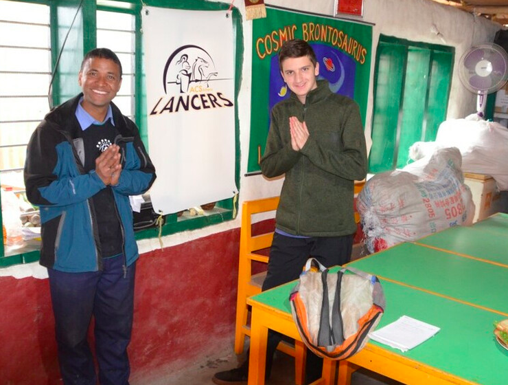 Greek student travels to Nepal to teach kids affected by horrific earthquake 12
