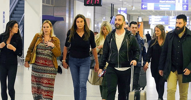 Caitlyn Jenner arrives in Athens for television appearance 4