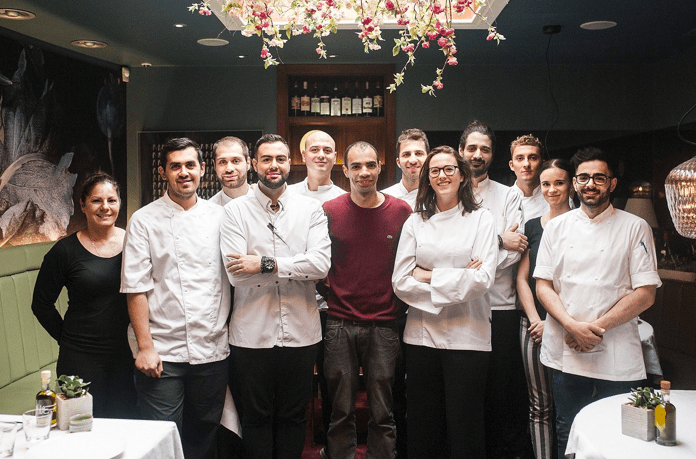 Greece's Asimakis Chaniotis becomes London's youngest Michelin star chef 8