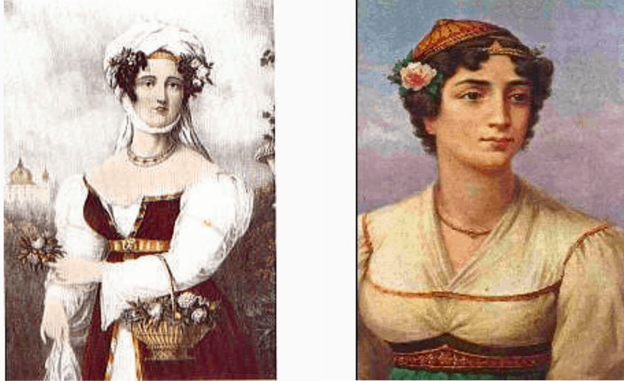 Manto Mavrogenous and Laskarina Bouboulina, heroines who fought tirelessly for Greece's Independence 2