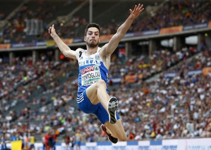 MiltosTentoglou wins gold at the European Indoor Championships 15