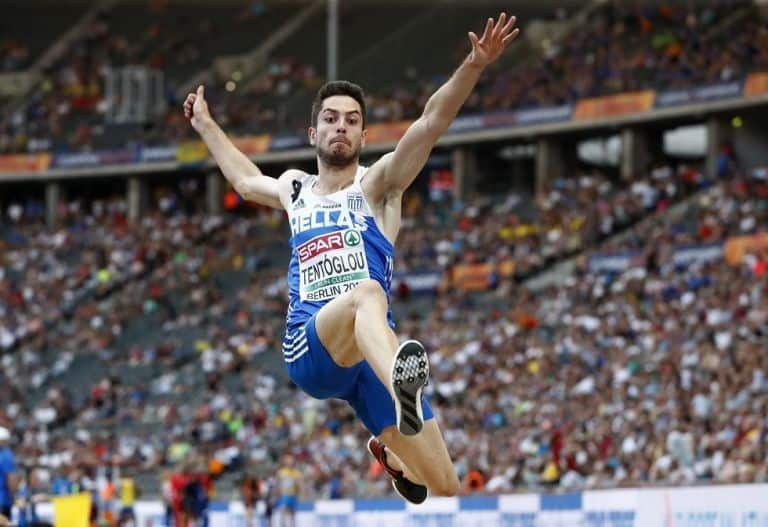 Miltos Tentoglou wins gold at the European Indoor Championships 1